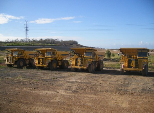 50T Dump Trucks - Rigid 1