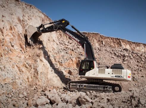 50T Hidromek HMK 490 LC HD Excavator