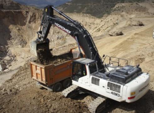 50T Hidromek HMK 490 LC HD Excavator 5