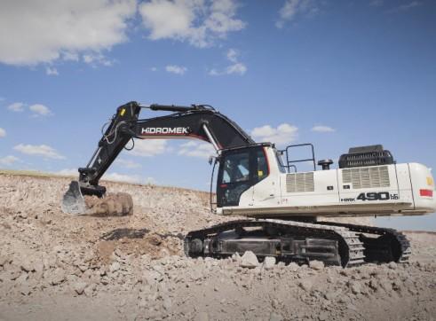 50T Hidromek HMK 490 LC HD Excavator 2