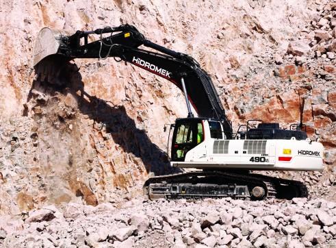 50T Hidromek HMK 490 LC HD Excavator 4