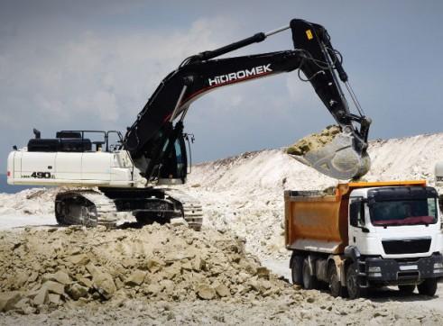 50T Hidromek HMK 490 LC HD Excavator 6