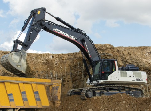 50T Hidromek HMK 490 LC HD Excavator 7