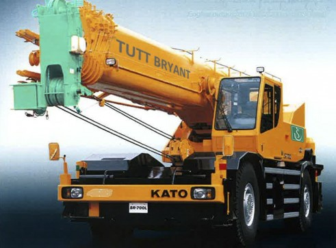 50T Kato SL500 Rough Terrain Crane  1