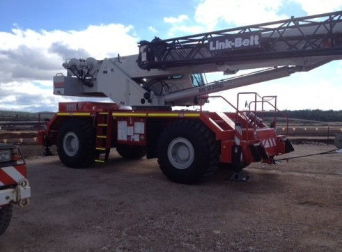 50ton Rough terrain Crane 1