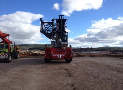 50ton Rough terrain Crane 2