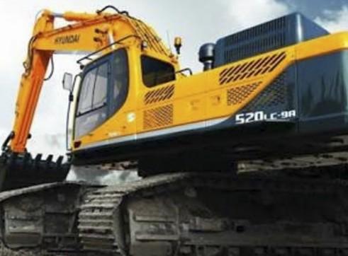 52 ton Hyundai Excavator