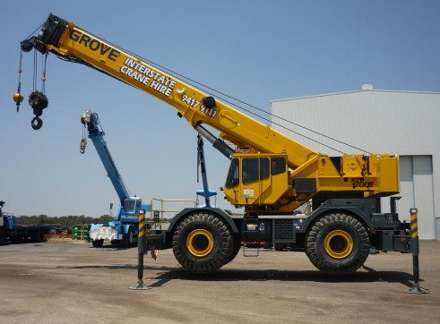 55 tonne Rough Terrain Crane 1