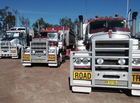 550HP Prime Mover w/single or road train grain tippers 5