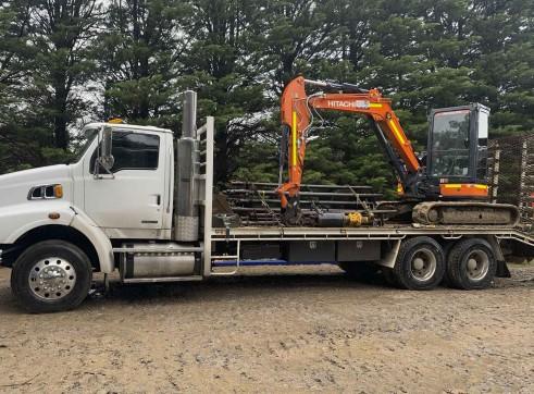 5.5T Hitachi ZX55 Excavator 1
