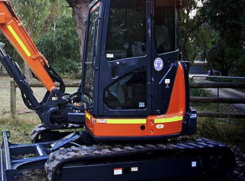 5T 2019 Hitachi ZX55 Excavator