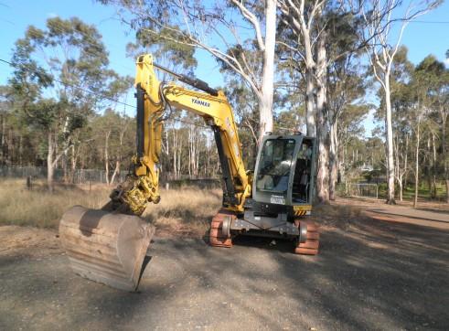 5t  - 8t hi-rail excavator  2