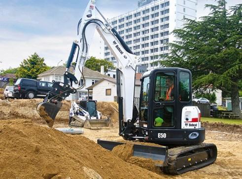 5T Bobcat Excavator