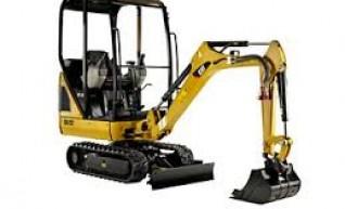 5t Cat Excavator  1