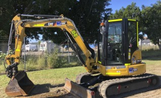5T Caterpillar Excavator 1