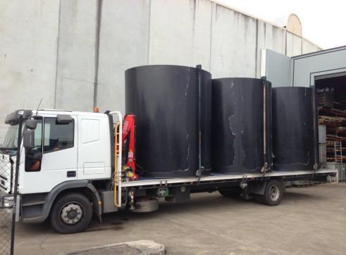 5T Crane Truck w/9.14m tray 2