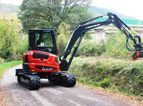 5T Eurocomach ES57ZT Mini Excavator 4