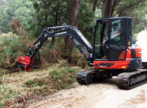 5T Eurocomach ES57ZT Mini Excavator 5