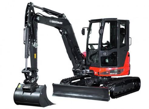 5T Eurocomach ES57ZT Mini Excavator 1