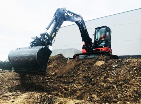 5T Eurocomach ES57ZT Mini Excavator 2