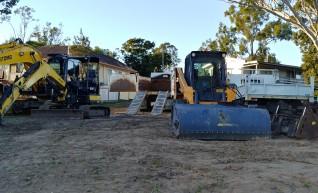 5t excavator + Bobcat + Tipper Combo 1