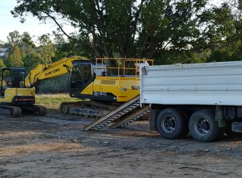 5t excavator + Bobcat + Tipper Combo 2