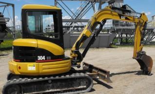 5T Excavator Caterpillar 304CR 1
