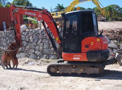 5T Kubota Excavator  1