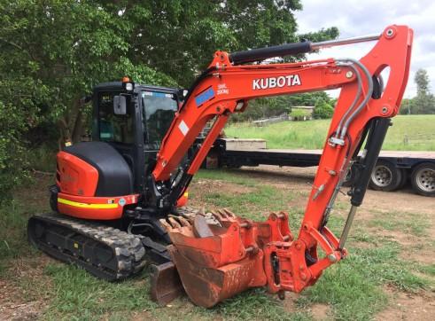 5T Kubota Excavator