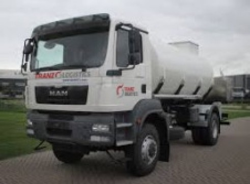 6,000L 4x4 Single Cab Fuel Truck 1