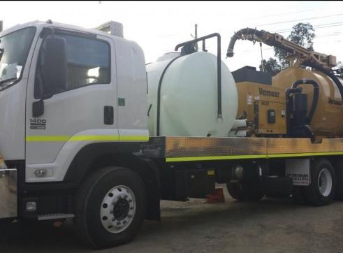 6,000L Vacuum Excavation Truck 2