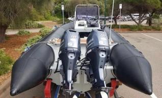 6 m Rigid Inflatable Boat (RIB) Milpro Hurricane 1