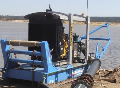6 Inch Skid Mounted Pump Set 1