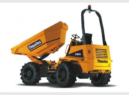 6 ton thwaites site tipper 1
