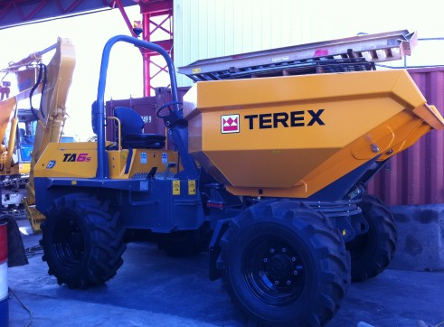 6 Tonne Articulated Mini Site Dumper 1