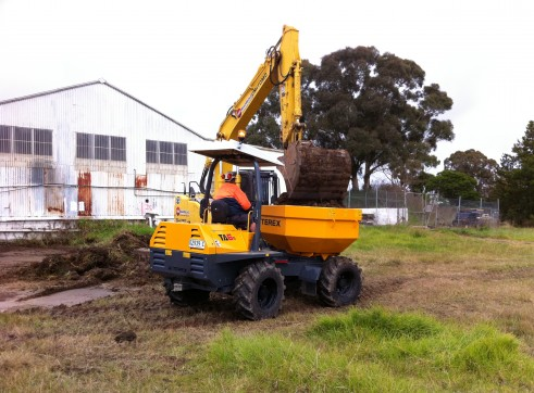 6 Tonne Articulated Mini Site Dumper 2
