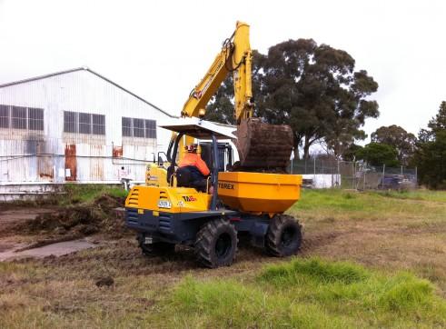 6 Tonne Articulated Mini Site Dumper 2