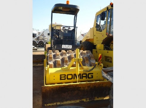 6 Tonne Bomag BW145PDH-3 Pad Foot Roller 1
