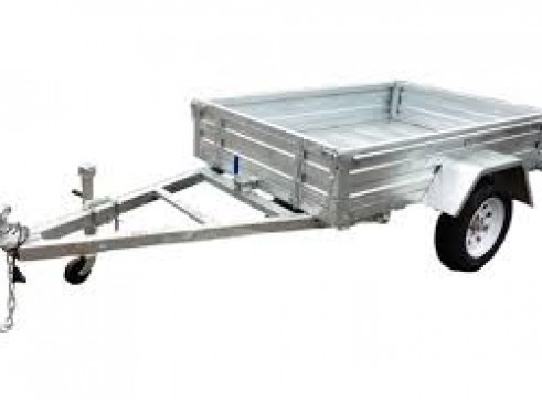 6 x 4 Gal Box Trailer 1