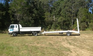 6.9T Single axle tag trailer 1