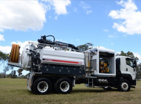 6000L Vacuum Excavation Truck 6