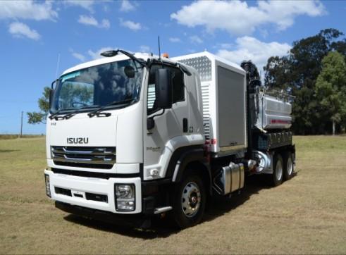 6000L Vac Excavation Truck 4
