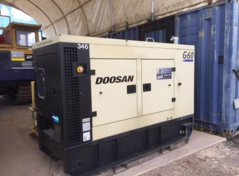 60KVA Generator Doosan 1