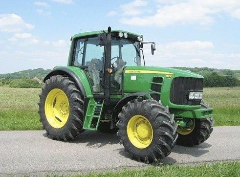 6530 John Deer tractor with 8ft Slasher 1