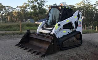 65HP Bobcat T190 Track loader 1