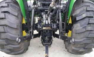 66HP JOhn Deere 4720 Tractor with ROPS  1