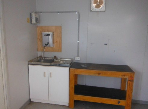 6m x 3m site office crib room lunch room 2