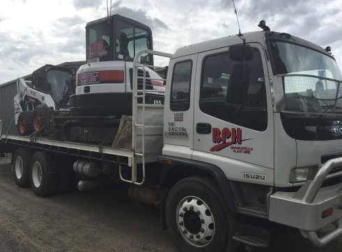 6T Excavator and Bobcat Combo 1