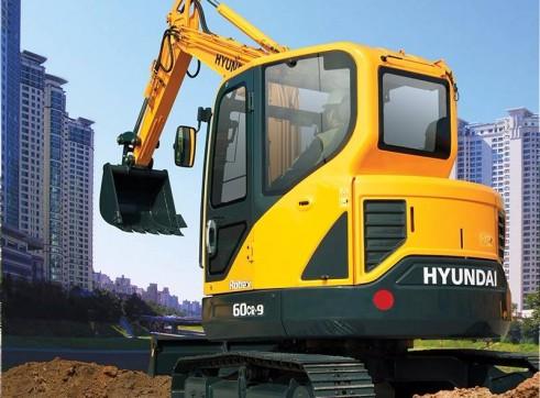 6T Excavator Hyundai R60CR-9 3