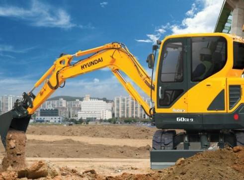 6T Excavator Hyundai R60CR-9 2